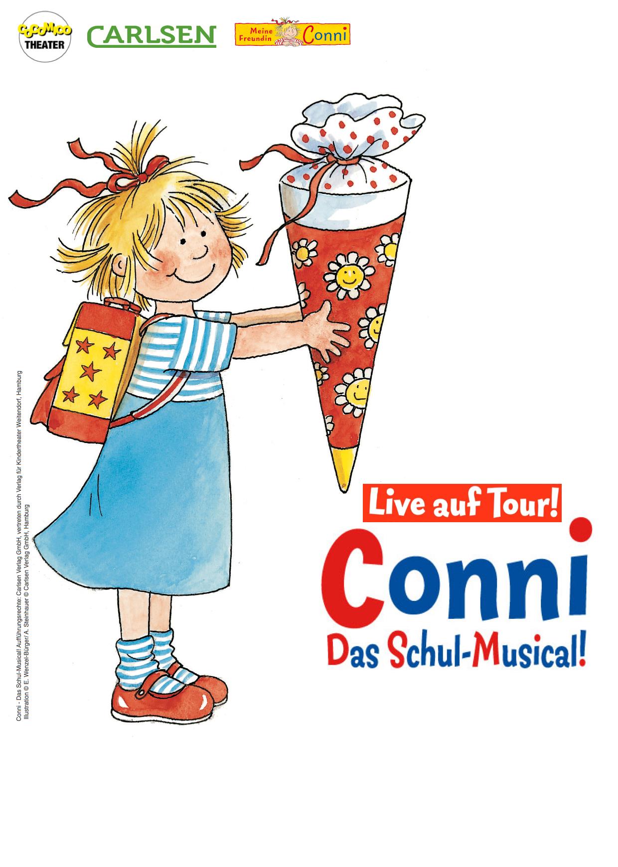 Cocomico Theater Pressematerial Conni Das Schul Musical